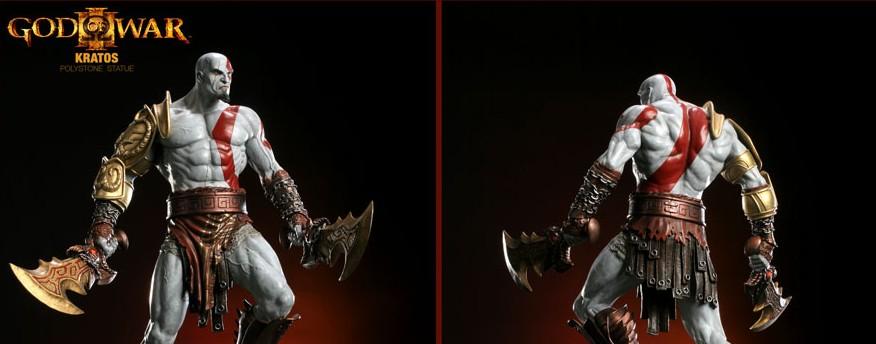 Figurine Kratos – God of War – par Sideshow