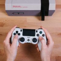 8Bitdo & Analogue - Retro Receiver Nintendo NES - Buetooth - PS4