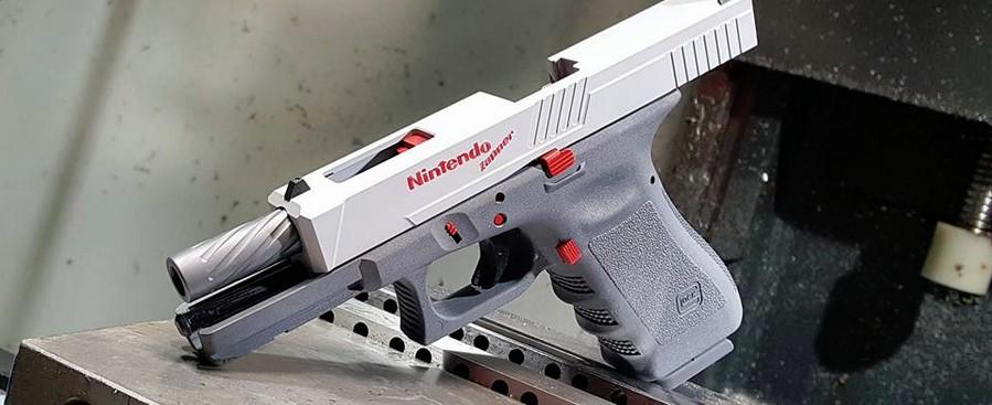 Mod pistolet Glock Nintendo Zapper
