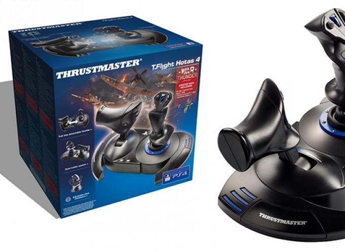 Test Thrustmaster T.Flight Hotas 4 – Joystick   PS4 / PC