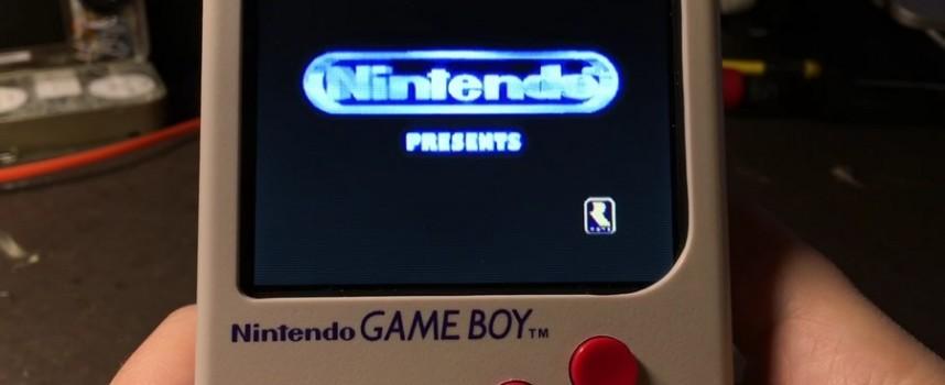 Mod Game Boy Raspberry Pi Zero