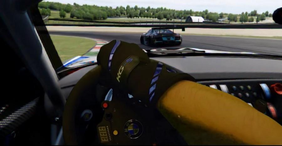 Réalité mixte sur Assetto Corsa GT3 et un Oculus Rift