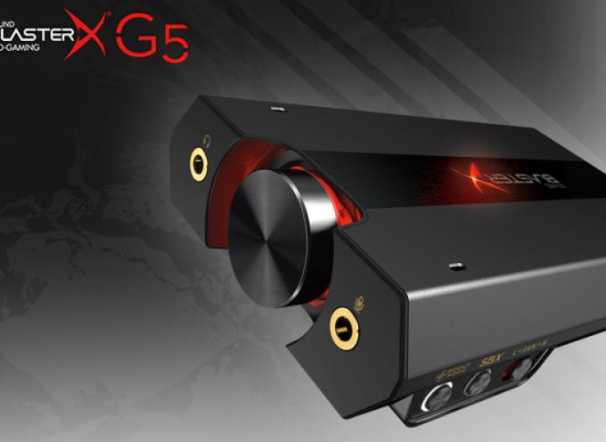 Test Sound BlasterX G5 – Boitier audio   PC / Xbox One / PS4