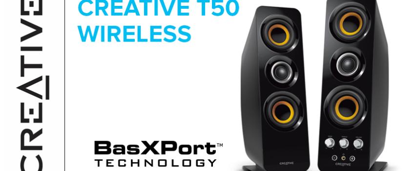 Test Creative T50 Wireless – Enceintes 2.0 | PC / Mac / Mobile