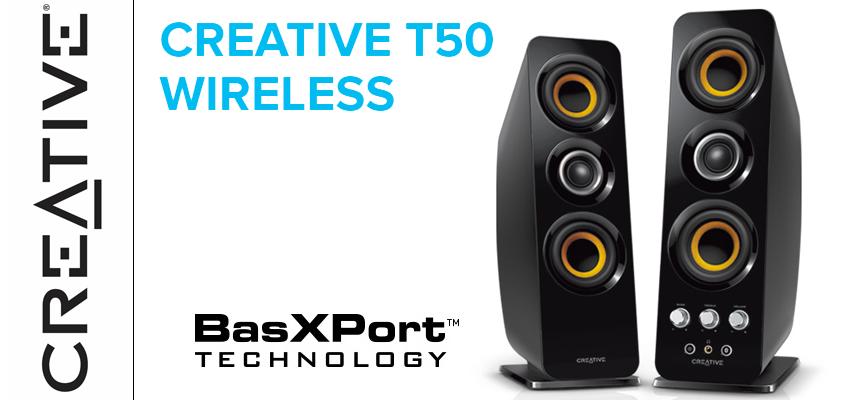 Test Creative T50 Wireless – Enceintes 2.0   PC / Mac / Mobile