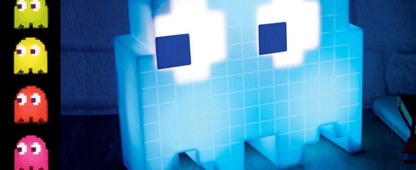 Test lampe LED fantôme Pac-Man | USB