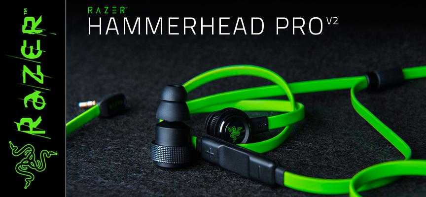 Test Razer Hammerhead Pro V2 - Casque Stéréo | PC