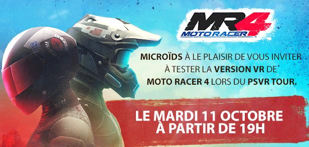 Moto Racer 4 en VR : on l'a essayé hier !