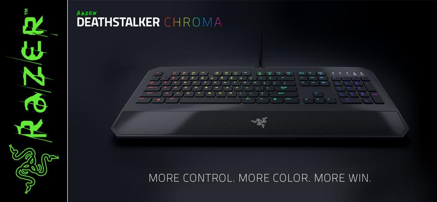 Test Razer DeathStalker Chroma – Clavier | PC