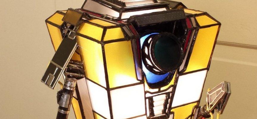 Une lampe DIY à l'effigie de ClapTrap de Borderland