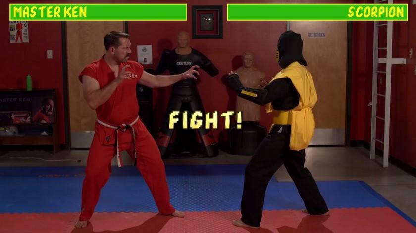 Master Ken vs. Scorpion