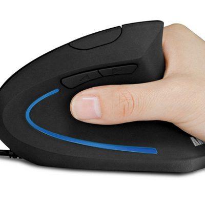 Test Anker Ergonomic Optical Mouse – Souris droitier verticale | PC