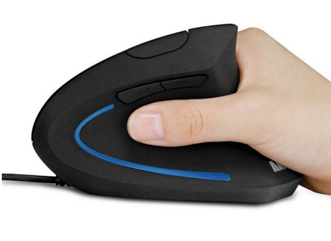 Test Anker Ergonomic Optical Mouse – Souris droitier verticale   PC