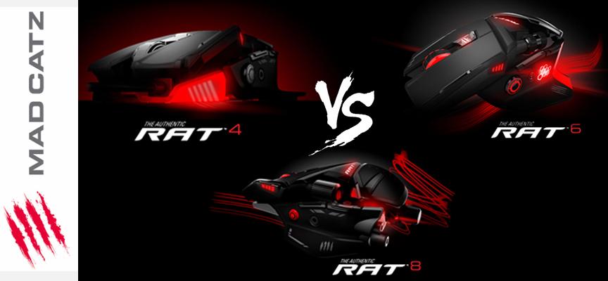 Mad Catz R.A.T. : Laquelle choisir ?