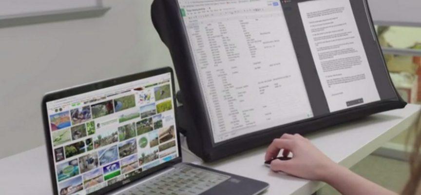 SPUD, l'écran nomade révolutionnaire