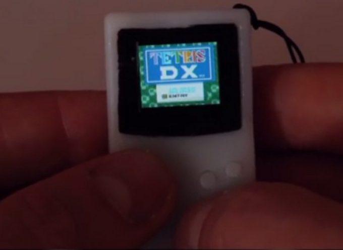 Tiny Game Boy, un porte-clés Game Boy qui fonctionne