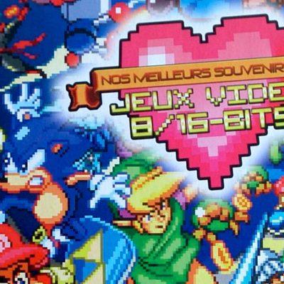 Avis sur le livre Nos Meilleurs Souvenirs de jeux vidéo 8 et 16 bits – Omaké Books