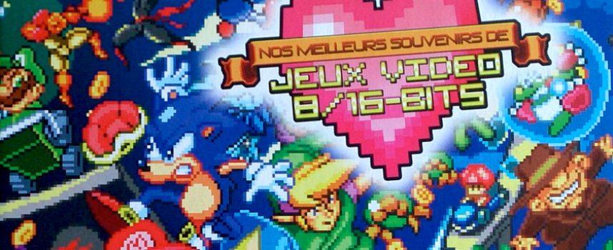 Lecture : Nos Meilleurs Souvenirs de jeux vidéo 8 et 16 bits – Omaké Books