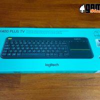 boite clavier sans fil Touchpad Logitech K400 Plus