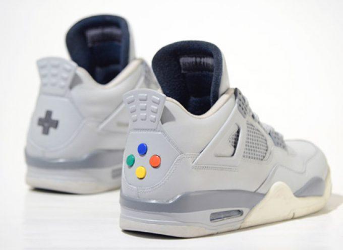 "Air Jordan ""Super Nintendo"" IV"