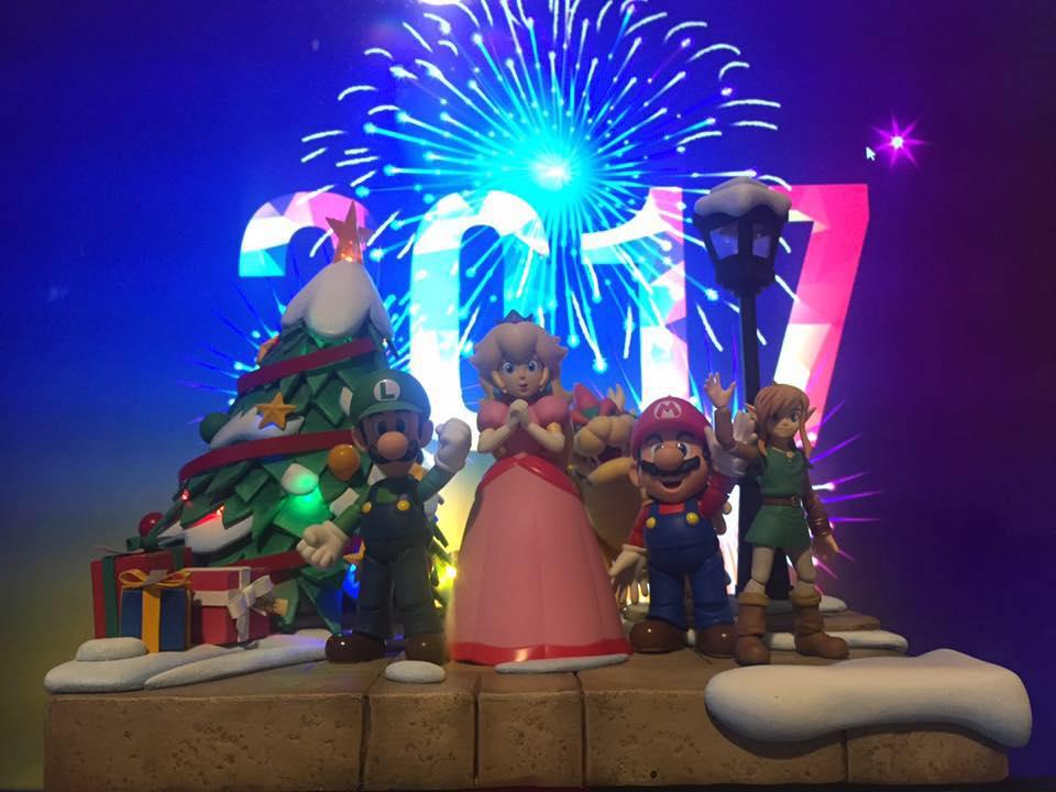 Des dioramas Nintendo du plus bel effet