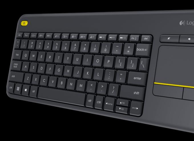 Test Logitech Touchpad K400 Plus – Clavier sans fil