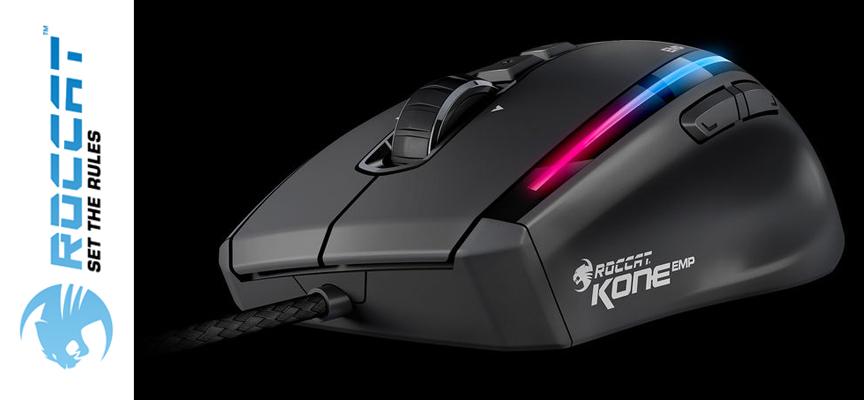 Test Roccat Kone EMP - Souris Gamer | PC