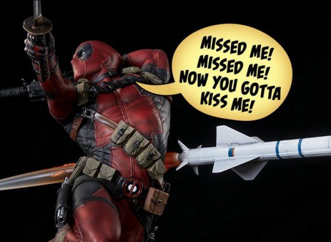 Figurine Deadpool par Sideshow Collectibles