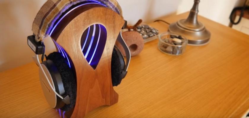 Support de casque audio gamer DIY