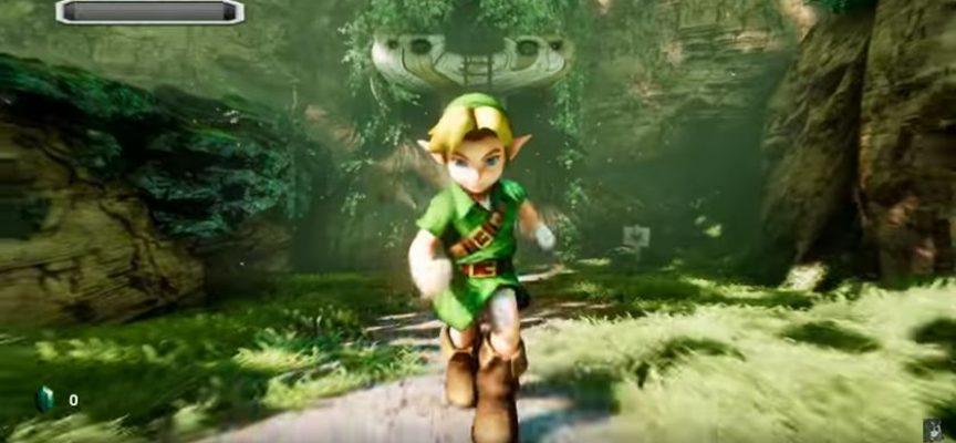 Une version étonnante de Zelda Ocarina Of Time tournant sur le moteur Unreal