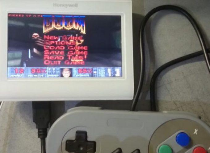 Jouer à Doom sur un thermostat, c'est possible !
