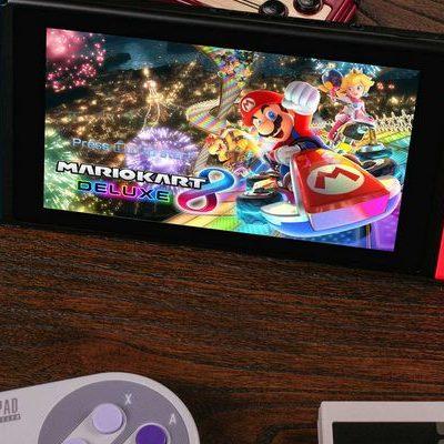 8Bitdo rend ses manettes compatibles avec la Nintendo Switch