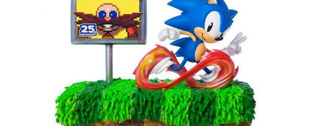 Une magnifique figurine pour les 25 ans de Sonic