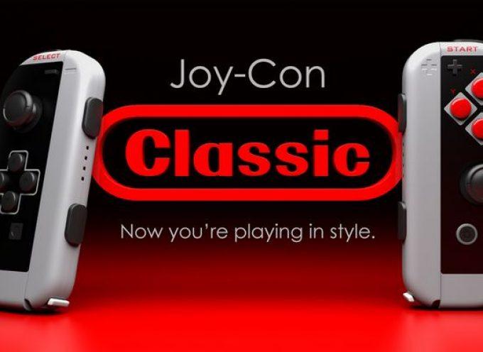 Joy Con Classic, des Joy-Con aux couleurs de la NES