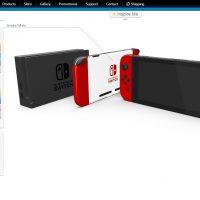 Configurateur Nintendo Switch tablette Colorware