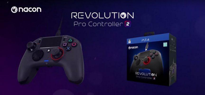 Nacon dévoile sa nouvelle manette PS4/PC REVOLUTION PRO CONTROLLER 2