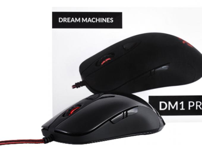 Test Dream Machines DM1 Pro S – Souris Gamer | PC