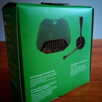 test boite Microsoft Chatpad pour manette Xbox One ou PC