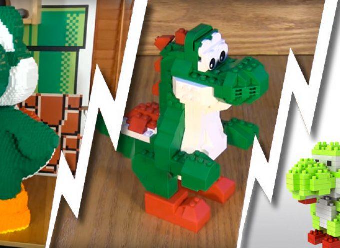 3 façons de construire un Yoshi 3D en Lego
