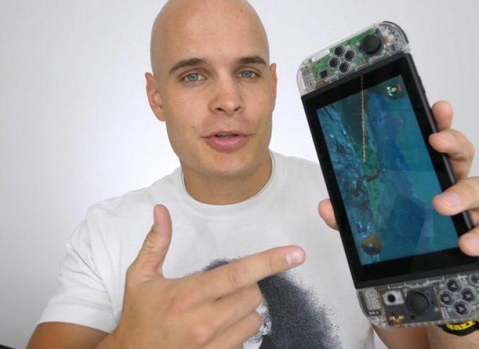 Transformer une Nintendo Switch basique en version Crystal