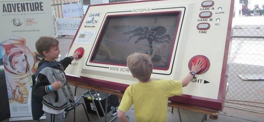 Console Game & Watch Octopus géante