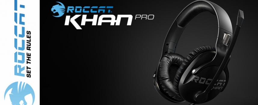 Test Roccat Khan Pro – Casque stéréo | PC / Mac / PS4 / Xbox One / Mobile