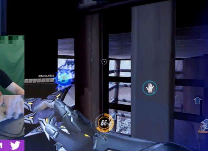 Jouer à Overwatch avec des Hand Spinners