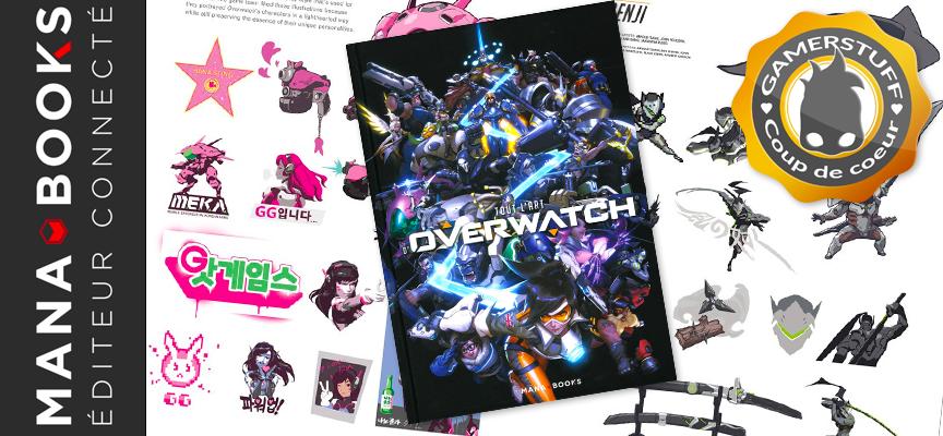 Avis sur le livre «Tout l'art d'Overwatch» – Edition Mana Books