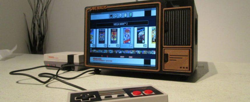 Créer une mini console TV rétro