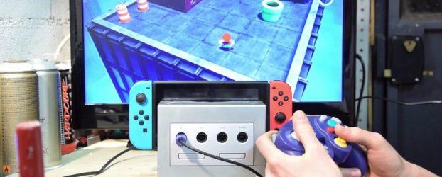 Un dock Gamecube DIY pour Nintendo Switch