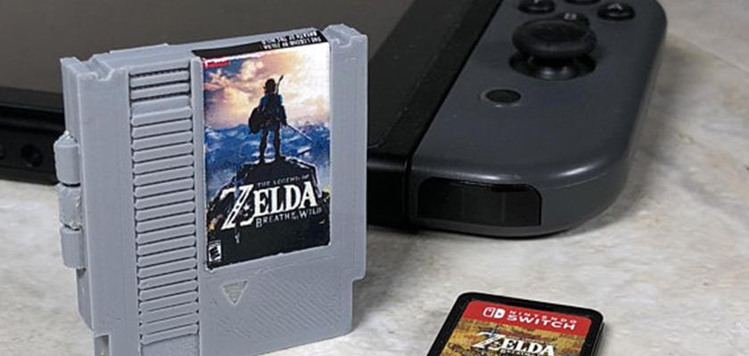 Des boitiers de carte SD en forme de cartouche NES pour Switch