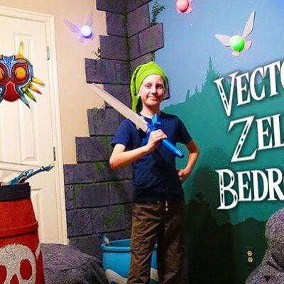 Décorer une chambre d'enfant sur le thème de Zelda