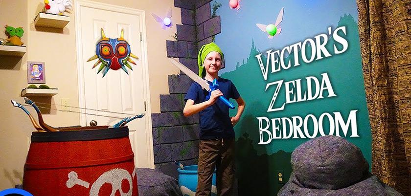 Decorer Une Chambre D Enfant Sur Le Theme De Zelda Gamerstuff Fr