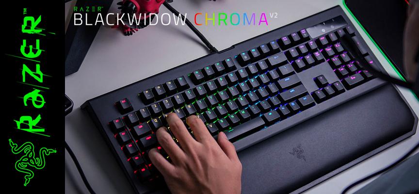Test Razer BlackWidow Chroma V2 – Clavier | PC